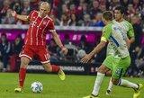 """Vokietijos """"Bundesligoje"""" - du vienuolikos metrų baudiniai ir """"Bayern"""" triumfas"""
