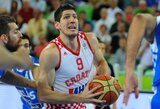 Po didžiosios pertraukos atsibudusi Kroatijos rinktinė pasirengimą baigė pergale