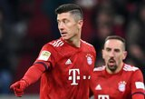 """Įspūdingą įvartį praleidę """"Bayern"""" iškovojo įtikinamą pergalę"""
