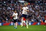 """EURO2020 atranka: H.Kane'as pelnė """"hetriką"""", o Anglija sutriuškino bulgarus"""