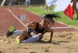 Trišuolininkė D.Zagainova Italijoje užėmė trečią vietą