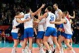 Europos tinklinio čempionato finale žais serbai ir slovėnai