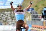 """N.Petersas įtikinamai laimėjo """"Giro d'Italia"""" etapą, latvis – geriausiųjų penkete"""