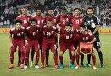 """""""Politinė rizika"""" kelia grėsmę pasaulio čempionatui Katare"""