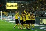 """Vokietija: """"Borussia"""" ir toliau išlieka lyderiais, """"Bayern"""" į priekį vedė S.Gnabry"""