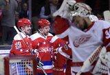 Paskutinė Vakarų konferencijos komanda patampė nervus NHL lyderiams