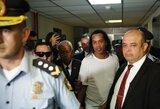 Netikrus dokumentus naudojęs Ronaldinho atsidūrė už grotų