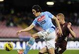 """""""Napoli"""" apmaudžiai išleido pergalę iš savo rankų"""