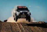 Dakaro ralis: trečiame greičio ruože finišavo visi Lietuvos ekipažai, B.Vanagas lenkė su prakirstu ratu finišavusį V.Žalą