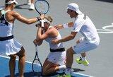 """Tris savaites trukusio """"World Team Tennis"""" turnyro nugalėtojus nulėmė vienintelis taškas"""