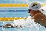 Dar viena diena baseine: du Lietuvos rekordai ir pusfinaliuose plauksiantys R.Meilutytė bei S.Bilis