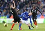 """Permainingoje kovoje – """"Chelsea"""" ir """"Leicester City"""" lygiosios"""