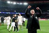 """Liaupsių norvegui negailėjęs R.Lukaku: """"Nėra jokių abejonių, žinau, kad O.G.Solskjaeras liks """"Man United"""""""