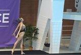 """N.Ambrazaitė dalyvavo """"World Series"""" dailiojo plaukimo varžybose Kazanėje"""