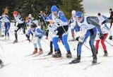 Pasaulio orientavimos sporto slidėmis taurės etape lietuvių estafetės varžovams neprilygo