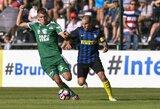 """""""Inter"""" neįveikė Austrijos trečios lygos čempionų, """"Borussia"""" vėl laimėjo"""