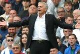 """Legendinio """"Manchester United"""" žaidėjo L.Sharpe'o verdiktas: J.Mourinho bus atleistas iki Kalėdų"""
