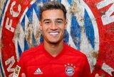 """Nuomos pagrindais """"Bayern"""" gretose žaidžiantis P.Coutinho mielai liktų Vokietijoje"""