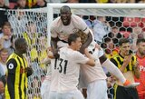 """Iki šiol vien pergalių keliu žygiavę """"Watford"""" krito prieš """"Manchester United"""""""