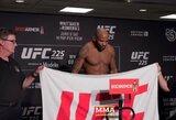 """Smūgis """"UFC 225"""" turnyrui: skausmą kentęs Y.Romero viršijo svorį ir nebegalės iškovoti čempiono diržo"""