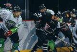 """""""Hockey Punks"""" iškovojo labai svarbią pergalę Kaune ir atsidūrė per žingsnį nuo didžiojo finalo"""