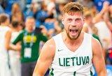 Europos žaidynių 3x3 turnyre lietuviai turėjo pripažinti Slovėnijos pranašumą, bet įveikė baltarusius ir pateko į ketvirtfinalį
