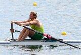 M.Griškonis užtikrintai pateko į pasaulio irklavimo čempionato ketvirtfinalį