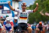 """Antrajame """"Giro d'Italia"""" etape triumfavo P.Ackermannas, I.Konovalovo komandos draugas kovojo dėl pergalės"""