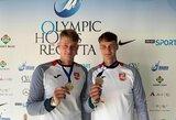 Lietuvos kanojininkai triumfavo olimpinių vilčių varžybose Vengrijoje