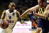 CSKA atakų organizatorius sulaukė trijų NBA klubų susidomėjimo