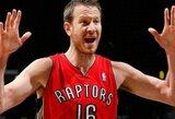 """""""Raptors"""" išsiuntė S.Novaką į Jutos klubą"""