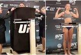 """""""UFC 237"""" svėrimai: J.Andrade išsirengė nuogai, kova dėl diržo patvirtinta"""