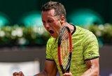 P.Kohlschreiberis susigrąžino legendinio Austrijos teniso turnyro nugalėtojo titulą