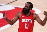"""""""Rockets"""" už J.Hardeną iš """"Nets"""" nori K.Irvingo arba K.Duranto"""