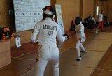 V.Ažukaitė Europos jaunimo fechtavimo lygos etape – 18-a, lietuvės baigė kovas Europos jaunučių fechtavimo čempionate