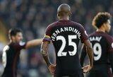 Naujas P.Guardiolos eksperimentas: Fernandinho šiame sezone rungtyniaus vidurio gynėjo pozicijoje