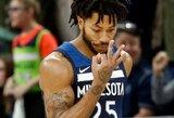 """Minimalią sutartį su """"Timberwolves"""" sudaręs D.Rose'as gerokai pasipelnys iš """"Adidas"""""""
