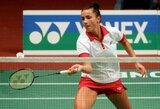 A.Stapušaitytė nepateko į badmintono turnyro Suomijoje ketvirtfinalį