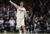 """M.Teodosičius toliau vilkės """"Clippers"""" marškinėlius"""