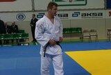 Europos jaunimo dziudo čempionate R.Nenartavičius ir I.Mečajus iškovojo po pergalę