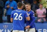 """Anglijos lyderių trejete besilaikantys """"Leicester City"""" be gailesčio sutriuškino """"Newcastle United"""""""
