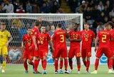 EURO2020 atranka: galingai žygiuojanti Belgijos rinktinė iškovojo aštuntąją pergalę