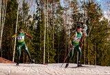 Viltys žlugo ištižusiame sniege: Europos čempionate biatlonininkų estafetė po norvegų diskvalifikacijos pakilo į 13-ą vietą