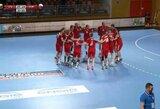 Dramatiškas rungtynes laimėję Lietuvos rankininkai – kitame pasaulio čempionato atrankos etape!