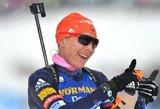 Lietuvos biatlonininkės pasaulio taurės varžybose vėl nepateko į persekiojimo lenktynes