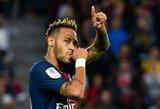"""Neymaro tėvas paneigė gandus, jog sūnus gali palikti Prancūziją: """"Mes jau kalbamės su PSG dėl kontrakto pratęsimo"""""""