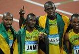 U.Boltas greičiausiai praras pasaulio rekordu pažymėtą olimpinį aukso medalį
