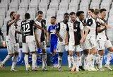 """Pergalę iškovojęs """"Juventus"""" užsitikrino """"Serie A"""" lygos čempionų titulą"""