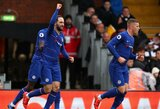 """""""Fulham"""" išvykoje įveikęs """"Chelsea"""" klubas vietiniame čempionate į savo sąskaitą įsirašė tris svarbius taškus"""