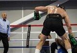 """C.McGregoro ir P.Malignaggi treniruočių pobūdžio kovą nutraukė legendinis teisėjas: """"Jie tapo nekontroliuojami"""""""
